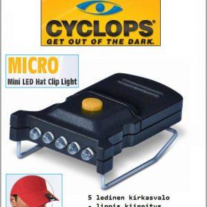 Minikokoinen LED lippisvalo