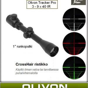 Olivon Tracker Pro 3-9 x 40 IR tähtäinkiikari