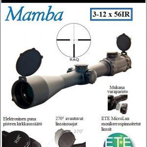 Optisan Mamba 3-12 x 56 IR 30mm