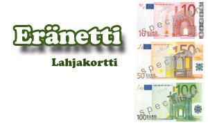 Eränetti lahjakortti 1 eur