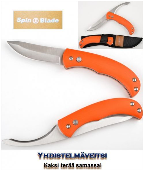 SpinBlade Orange yhdistelmäveitsi