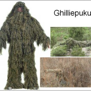 Ghillie puku Woodland Green