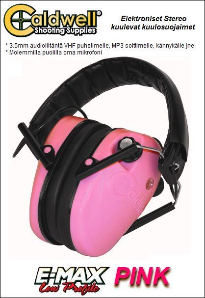 Elektroninen stereo kuuleva kuulosuojain