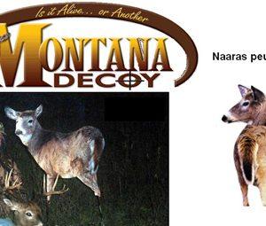 Peurakaave Montana Decoy