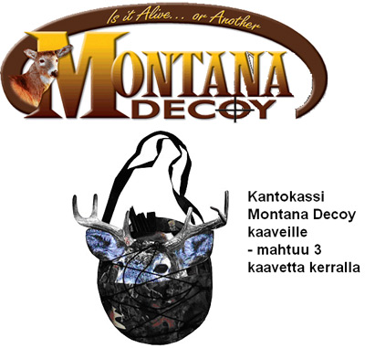 Kaaveenkantokassi Montana Decoy