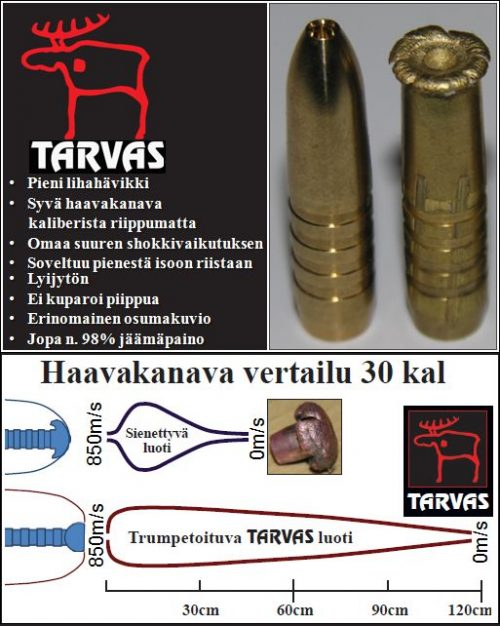 TARVAS .338kal