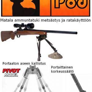 Bipod Pivot matala ammuntatuki