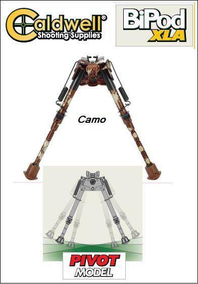 Caldwell XLA BiPod Camo