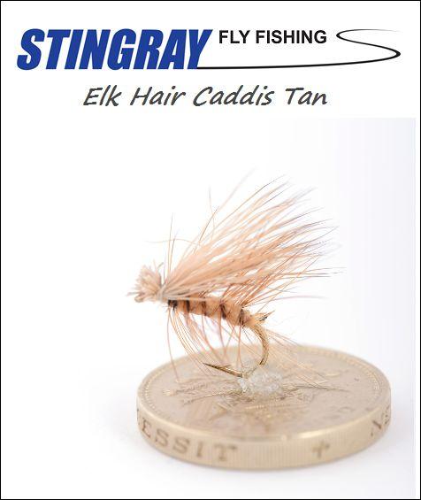 Elk Hair Caddis Tan #16 pintaperho