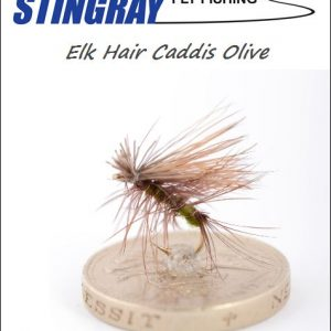 Elk Hair Caddis Olive #12 pintaperho