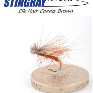 Elk Hair Caddis Brown #16 pintaperho