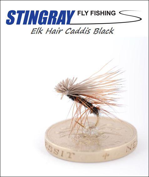 Elk Hair Caddis Black #14 pintaperho