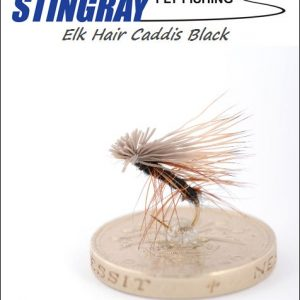 Elk Hair Caddis Black #16 pintaperho