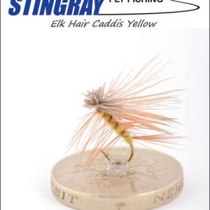 Elk Hair Caddis Yellow #12 pintaperho