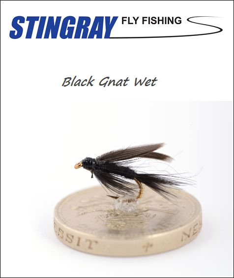 Black Gnat Wet #16 uppoperho