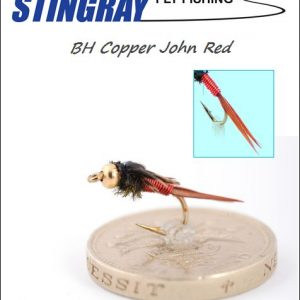 BH Copper John Red #12 nymfi