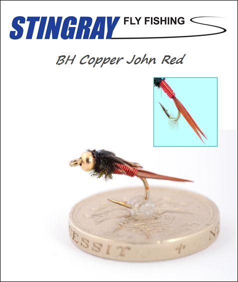BH Copper John Red #14 nymfi
