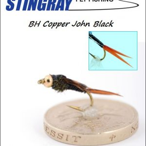 BH Copper John Black #12 nymfi