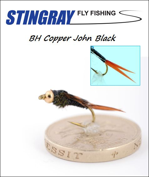 BH Copper John Black #12 nymfi