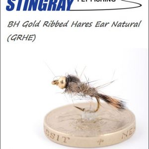 BH Gold Ribbed Hares Ear (GRHE) Natural #12 nymfi