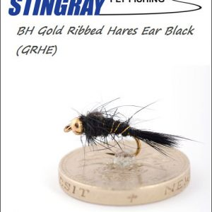 BH Gold Ribbed Hares Ear (GRHE) Black #14 nymfi