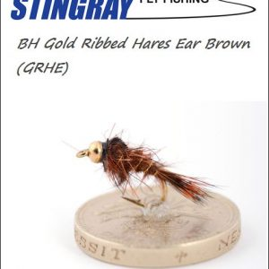 BH Gold Ribbed Hares Ear (GRHE) Brown #14 nymfi