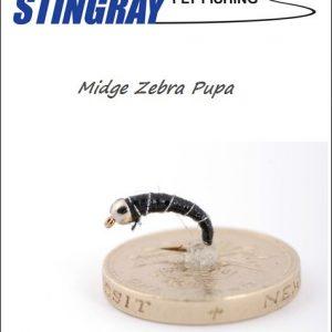 Midge Zebra Pupa #12