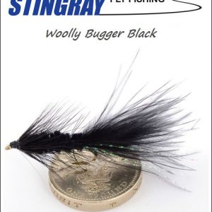 Woolly Bugger Black #10 streameri