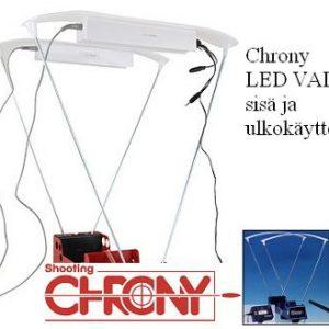 Shooting Chrony luodinnopeusmittarin LED VALO sisä ja ulkokäyttöön