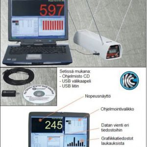 ProChrono Digital USB hallintaohjelma