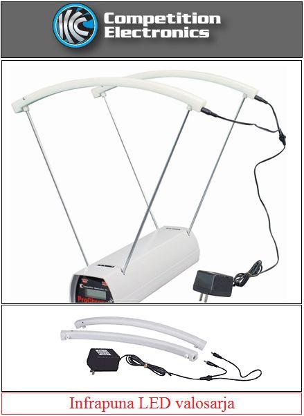 Competition Electronics luodinnopeusmittarin infrapuna LED valosarja sisä ja ulkokäyttöön