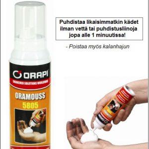 Oramouss vedetön käsienpuhdistusvaahto