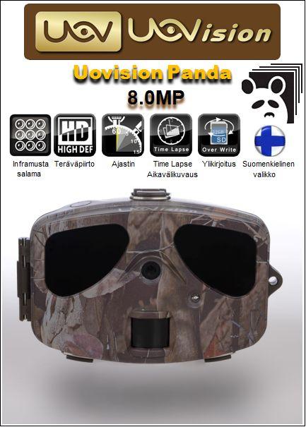Uovision Panda 8.0MP HD riistakamera