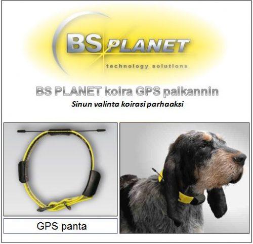 BS Planet koira GPS lisäpanta