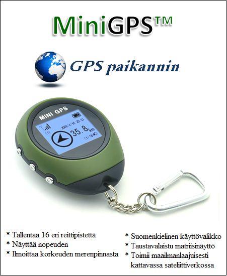 GPS paikannin