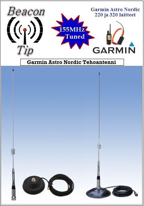Garmin ASTRO Nordic Tehoantenni 71cm