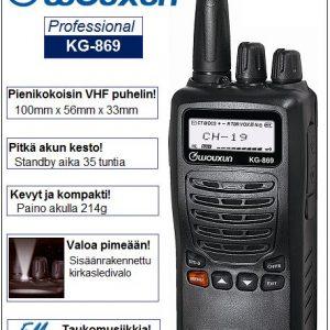 VHF Puhelin