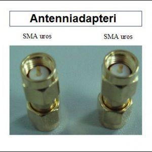 Antenniadapteri, SMA uros - SMA uros