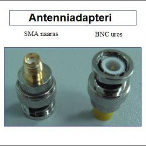 Antenniadapteri, SMA naaras - BNC uros