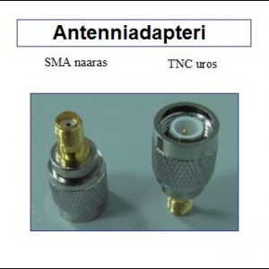 Antenniadapteri, SMA naaras - TNC uros
