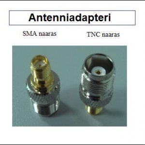 Antenniadapteri, SMA naaras - TNC naaras
