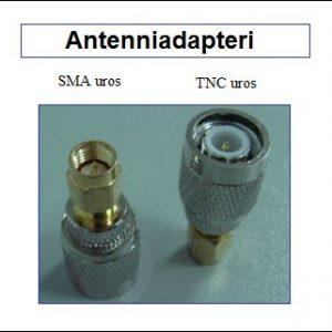 Antenniadapteri, SMA uros - TNC uros