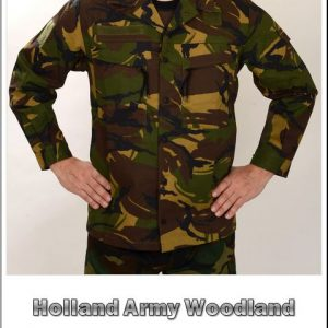 Kenttätakki, Holland Army Woodland Camo