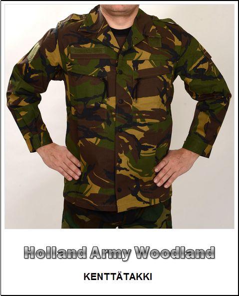 Kenttätakki, Holland Army Woodland Camo