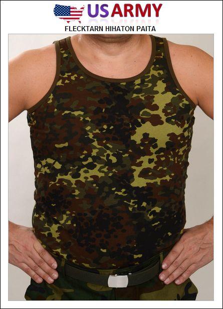 US Army hihaton paita, Flecktarn camo