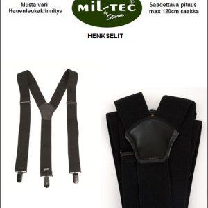 Henkselit, hauenleuka nipistimet, Mil-Tec (Musta)