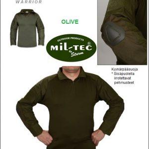 Taktinen paita, RipStop Oliivi, Warrior, Mil-Tec