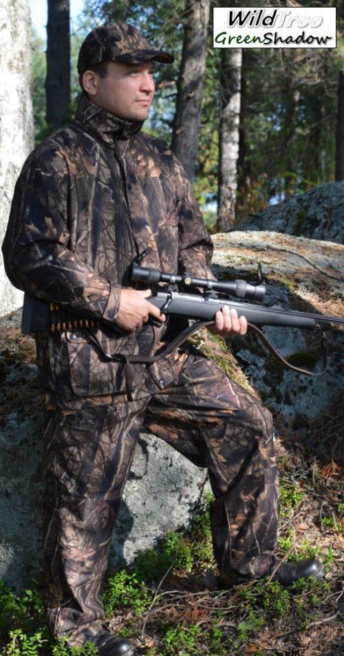 Metsästyspuku, WildTree GreenShadow (M, L tai XL)