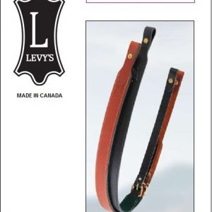 """Asehihna, Musta 1"""", Levy´s Leathers (EX11-BLK)"""