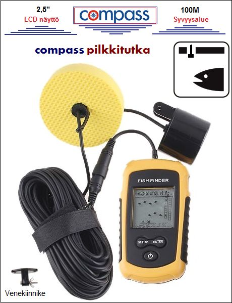 Pilkkitutka, Compass FF